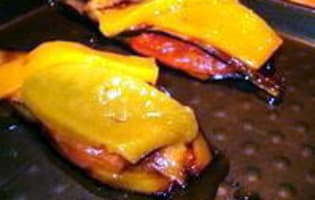Tranches d'aubergines grillées - Etape 7