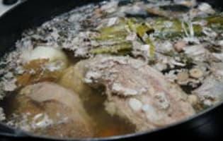 Blanquette de veau - Etape 4