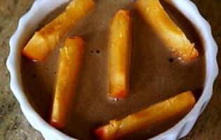Clafoutis aux abricots et au chocolat - Etape 9