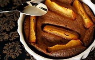 Clafoutis aux abricots et au chocolat - Etape 11
