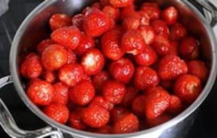 Confiture de fraises - Etape 6