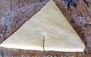 Croissants et pains au chocolat - Découpe et cuisson - Etape 5