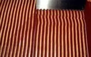 Rubans en chocolat - Etape 3