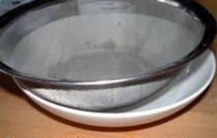 Perles d'alginates - Etape 4