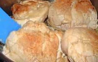 Ris de veau braisés - Etape 4