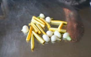Filets de rougets à la plancha - Etape 2