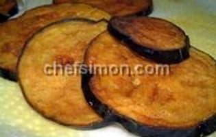 Aubergines frites aux épices - Etape 5