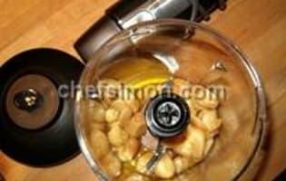 Côtes d'agneau grillées à la crème d'ail - Etape 1