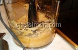 Côtes d'agneau grillées à la crème d'ail - Etape 2