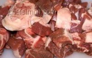 Curry d'agneau - Etape 2