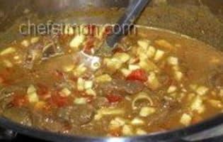 Curry d'agneau - Etape 12