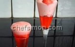 Mousse et gelée de fraises Tagada - Etape 7