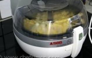 Actifry : la friteuse qui frite sans huile - Etape 4