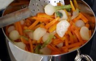 Jardinière de légumes : l'assemblage de la jardinière - Etape 6