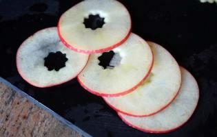 Millefeuille de Saint-Jacques à la pomme - Etape 3