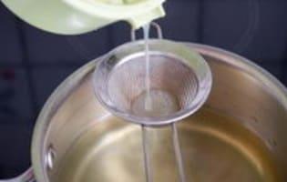 Sirop de fleurs de sureau - Etape 6
