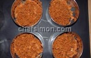 Fond de biscuits émiettés - Etape 5