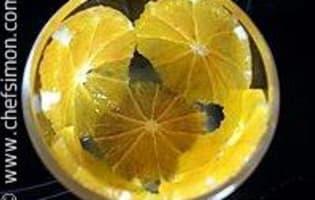Gateau de semoule aux oranges - Etape 10