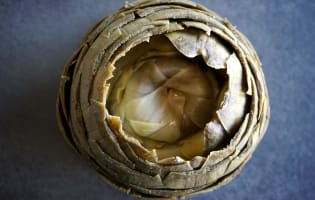 Artichaut à la vinaigrette - Etape 9