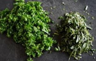 Sauce béarnaise - Etape 2