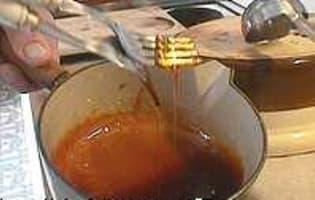 Dôme en sucre filé - Etape 3
