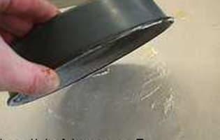 Chemiser un moule - Etape 3