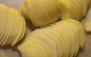 Chips de pommes - Etape 1