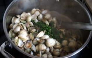 Quiche aux fruits de mer - Etape 2