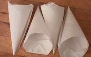 Glacer et marbrer un millefeuille - Etape 6