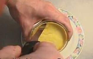 Démoulage des crèmes renversées - Etape 3