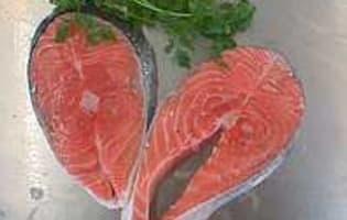 Désarêter un filet de saumon - Etape 9