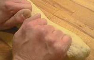 Façonner la pâte à pain - Etape 9