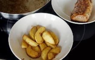 Filet mignon aux pommes et au cidre - Etape 6