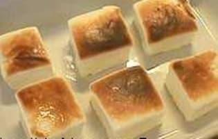 Marshmallows ou guimauves grillées - Etape 5