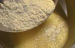 Petits moelleux au miel et fruits secs - Etape 6