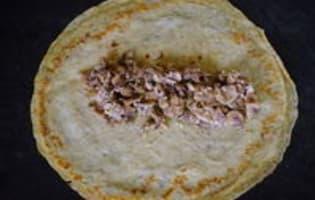 Crêpes en pannequets - Etape 3