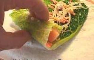 Saumon en feuilles de chou - Etape 4