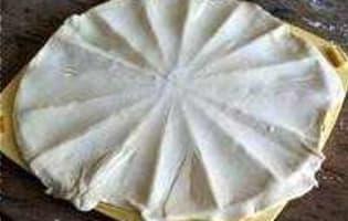 Minis croissants apéritifs - Etape 3