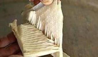 Aile de raie pochée - Etape 7