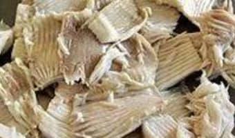 Aile de raie pochée - Etape 9