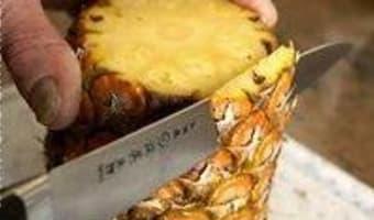 Carpaccio d'ananas exotique - Etape 2