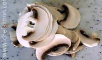 Taille des champignons - Etape 3
