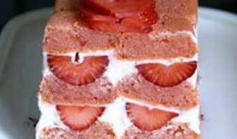 Charlotte aux fraises - Etape 12