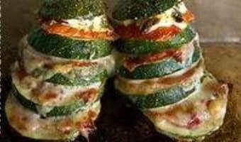 Hamburgers de courgettes - Etape 12