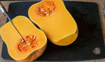 Crème de potiron maraîchère - Etape 1
