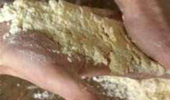 Crumble pommes myrtilles - Etape 6