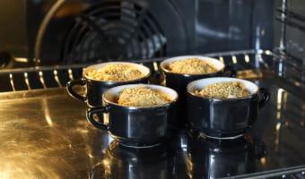 Crumbles d'endives au foie gras - Etape 8