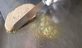 Foie gras à la plancha - Etape 5