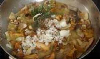 Poêlée de champignons sauvages - Etape 8