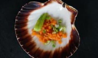 Noix de Saint-Jacques cuites en coquilles - Etape 4